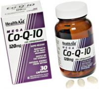 HealthAid Mega Co-Q-10 120mg caps 30's